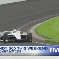 Indy 500 coming up on May 26