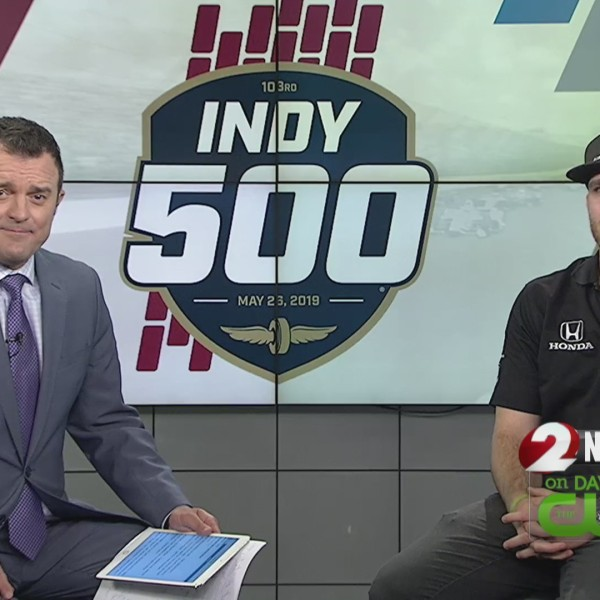 Indy Driver Conor Daly joins 2 NEWS Today
