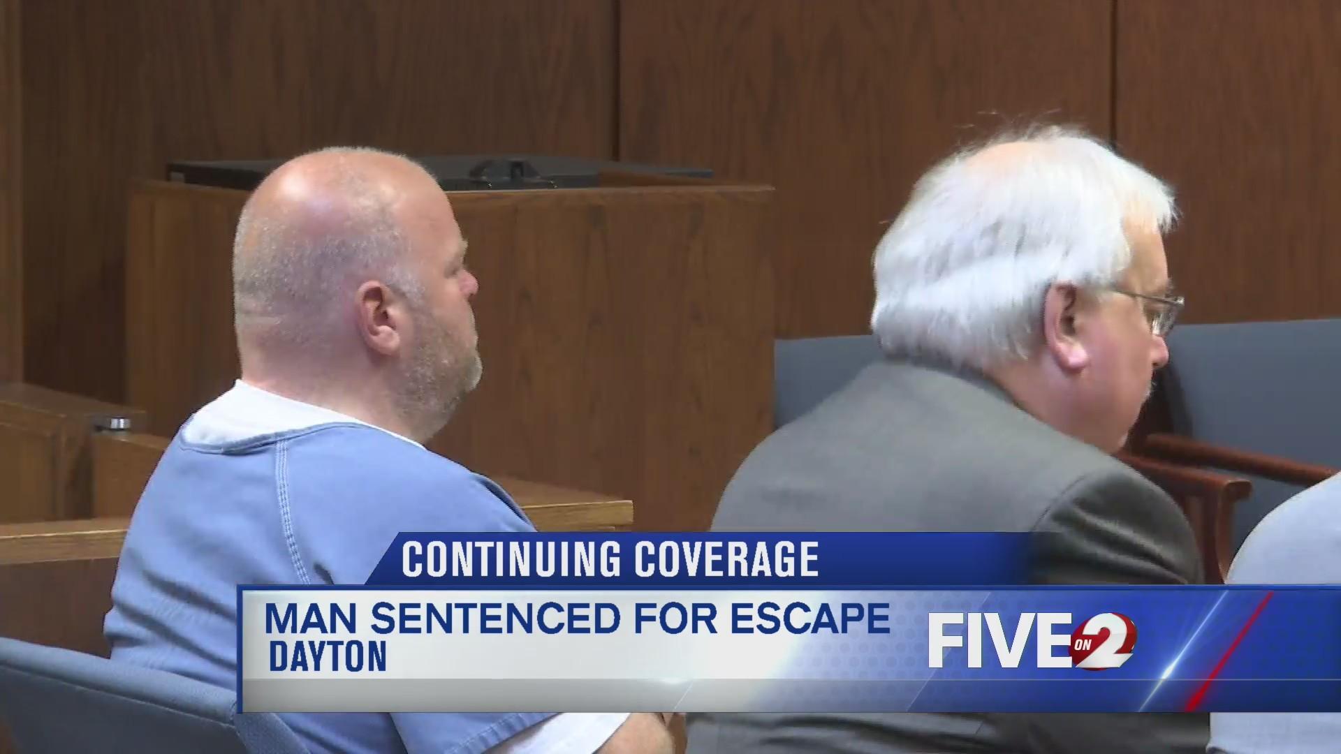 Justin Smith sentenced for escape