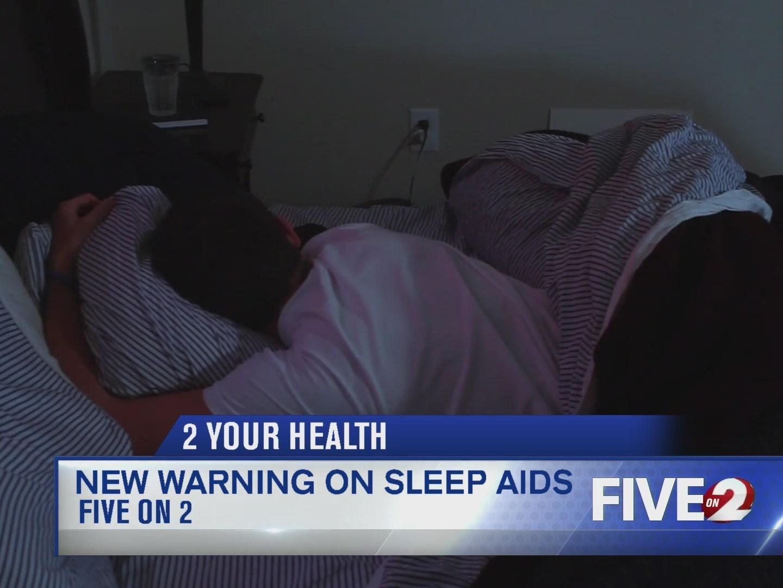 New warning on sleep aids