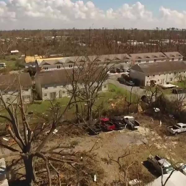 President visits Panama City amid disaster aid bill stall