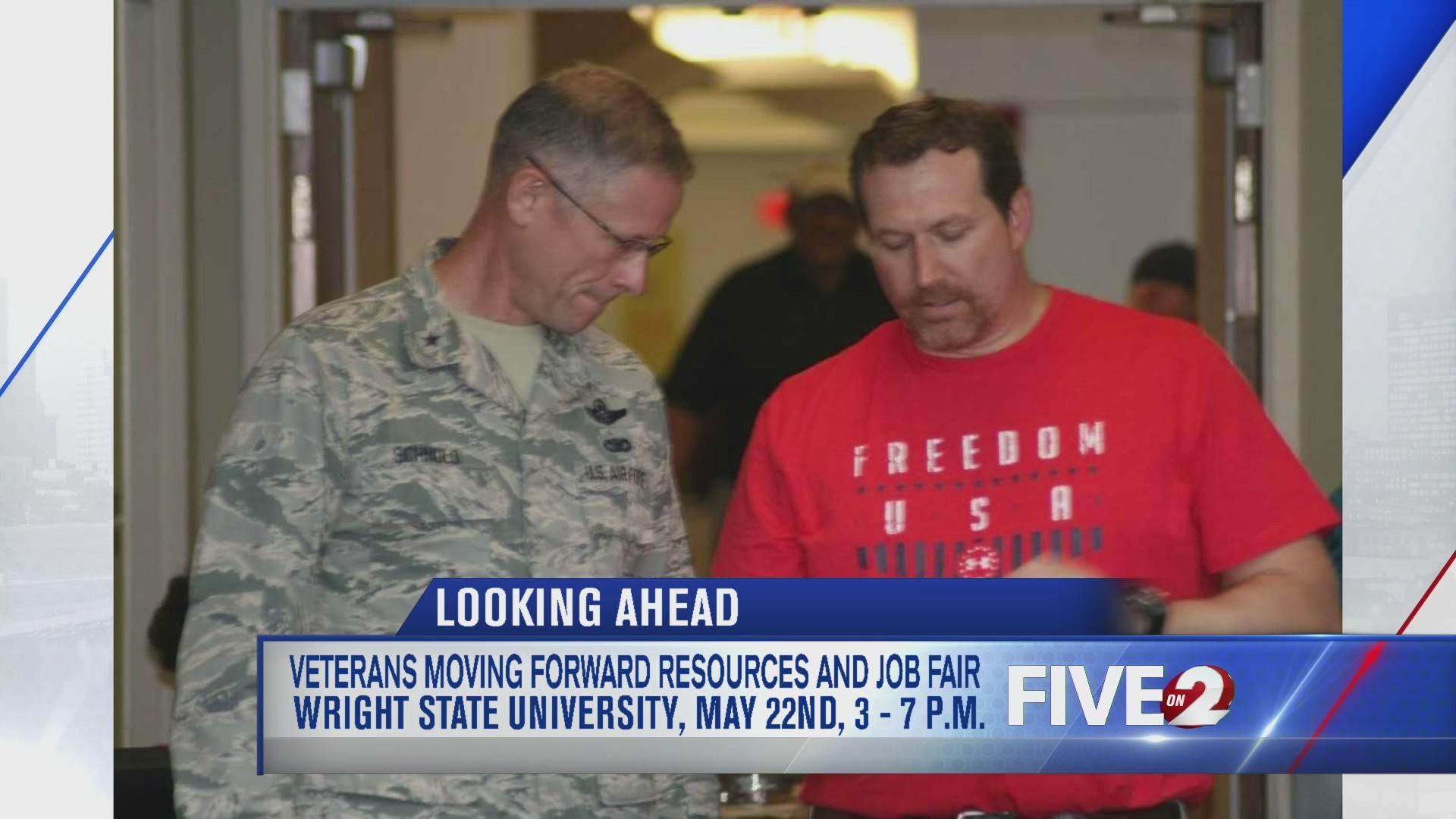 Veterans Moving Forward Resources and Job Fair coming up May 22