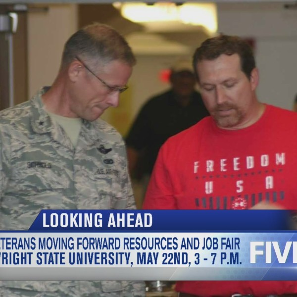 Veterans Moving Forward Resources and Job Fair coming up May 22