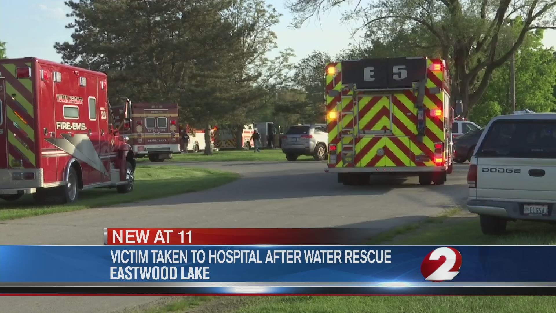 Victim taken to hospital after water rescue dies