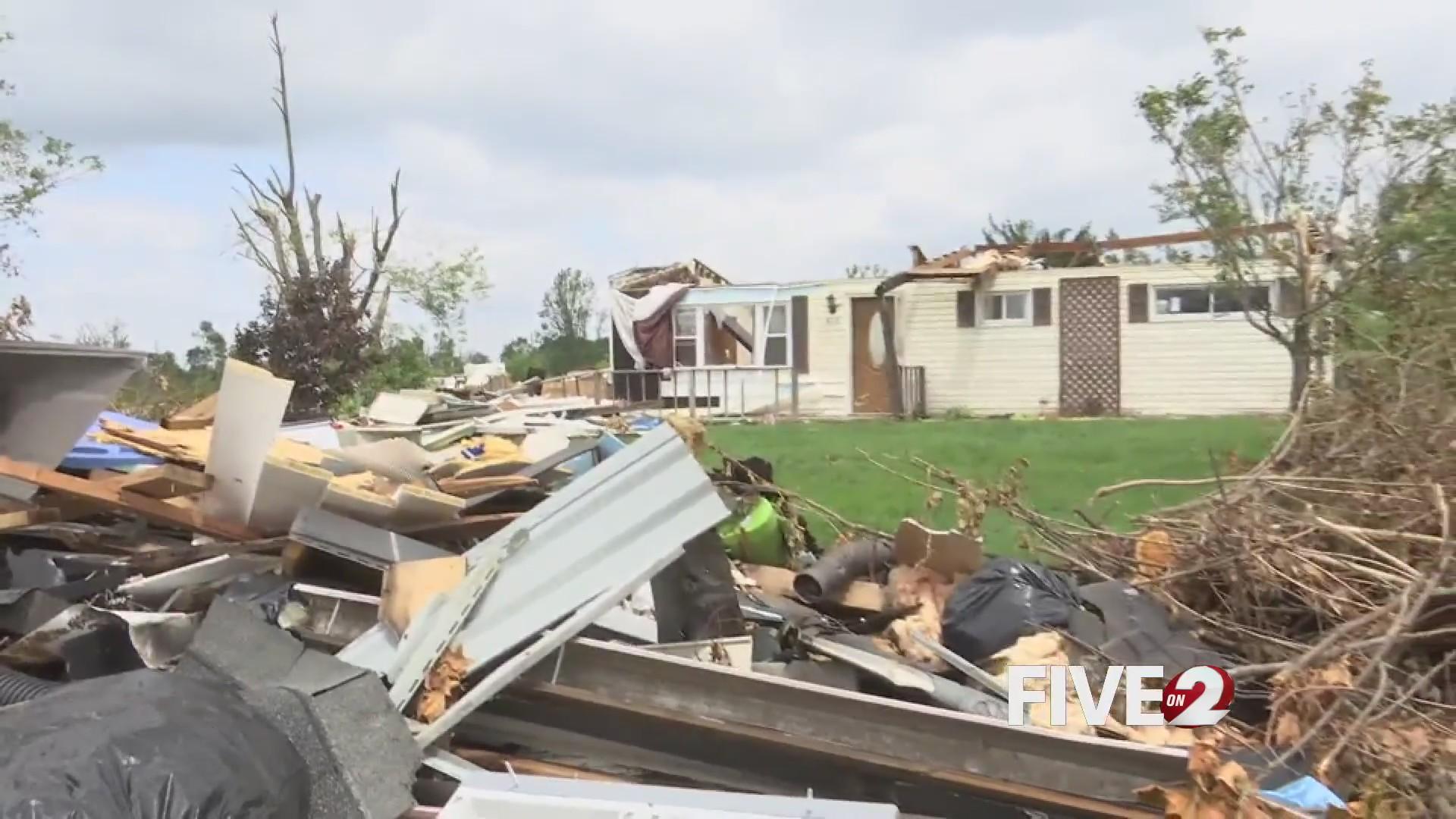 Beavercreek woman hopes for return of her dogs after tornado