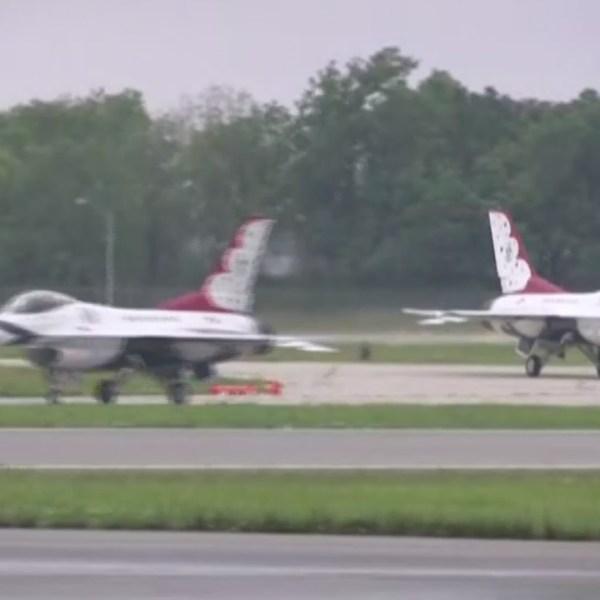 6-20 Thunderbirds Arrive for air show