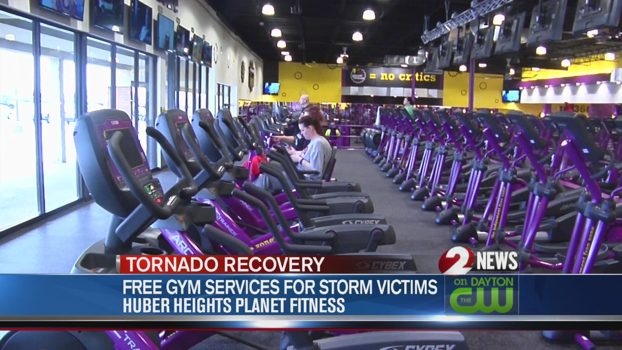 Gym Service For Storm Victims At Planet Fitness Wdtn Com