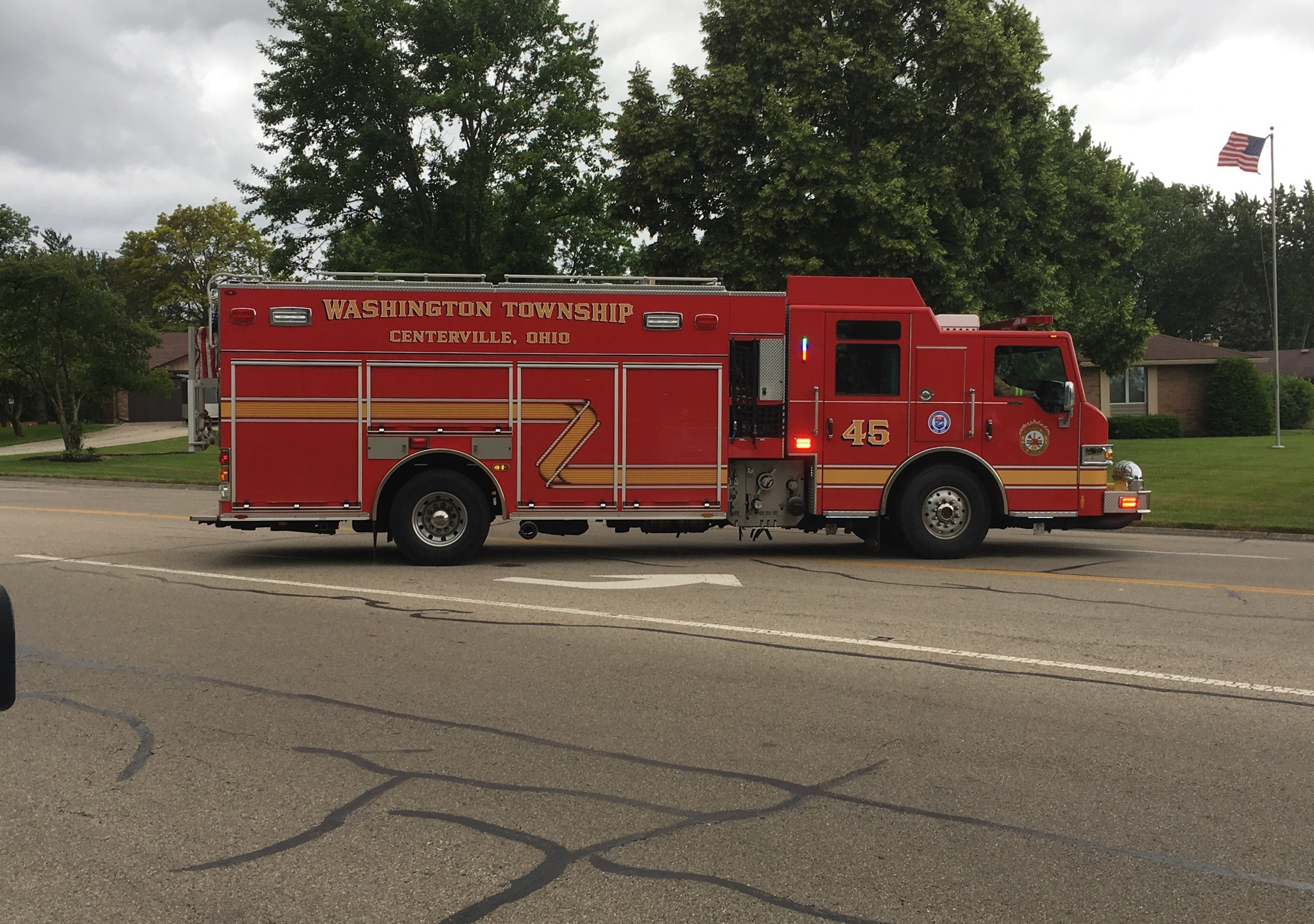 Washington Township Gas Leak
