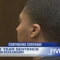 Kylen Gregory sentenced to 11 years