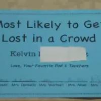 """Autistic Boy Given """"Most Likely To Get Lost In a Crowd"""" Award"""