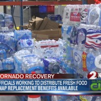 Officials working to distribute fresh food