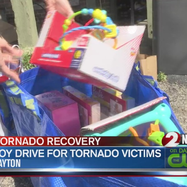 Toy drive for tornado victims