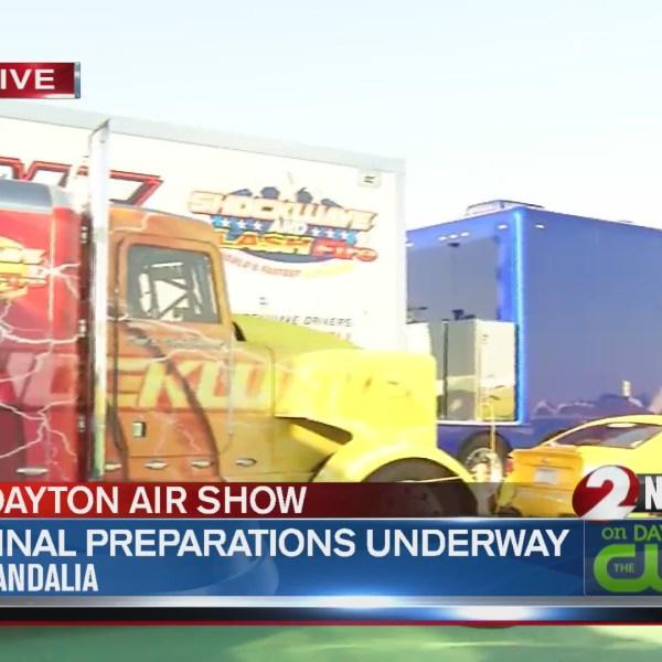 Dayton Air Show final preps