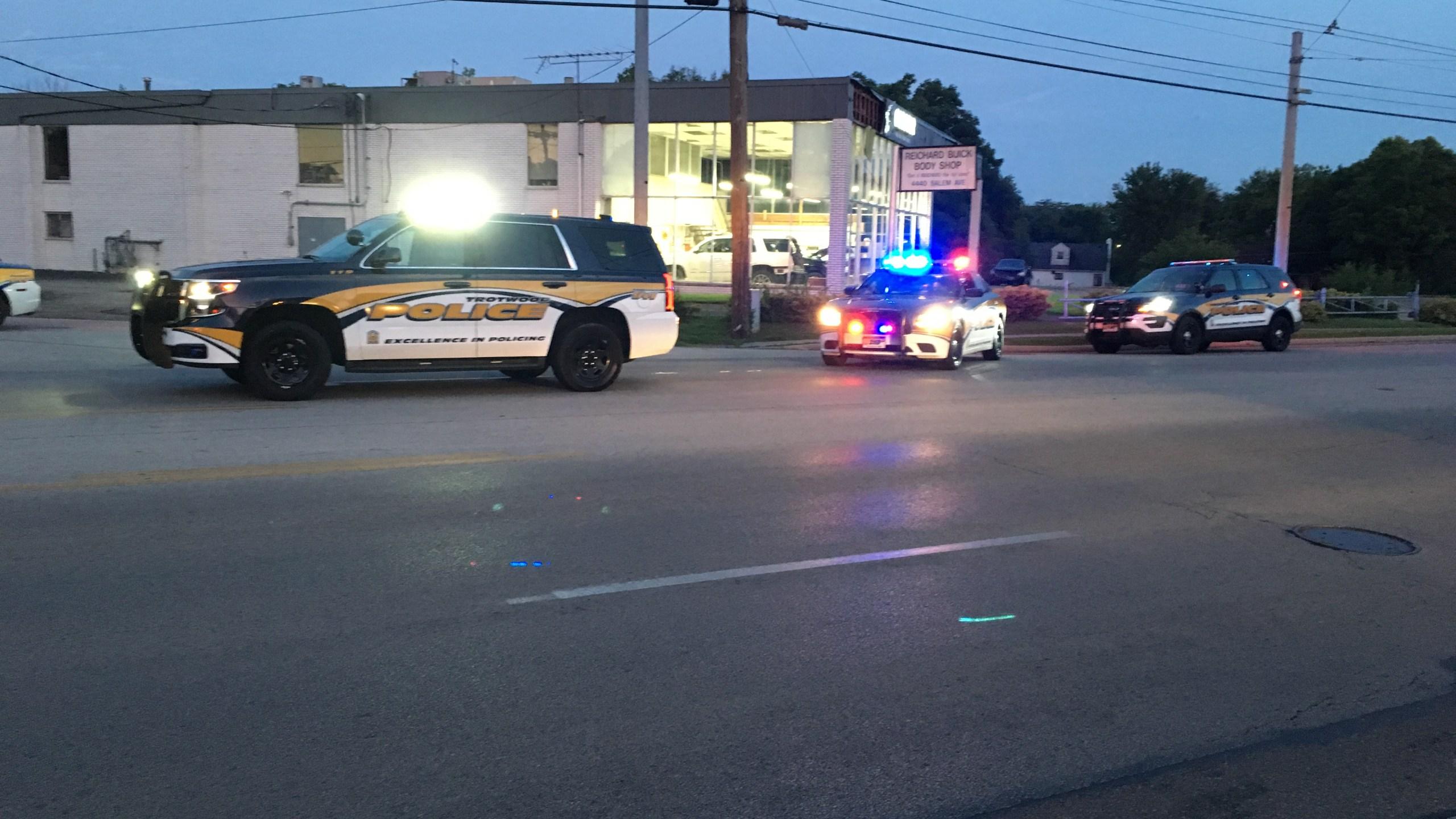 Pedestrian struck in Trotwood