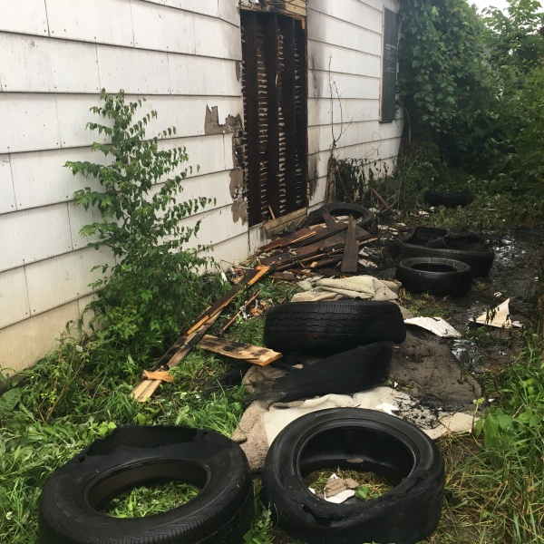 Dayton Tire Fire