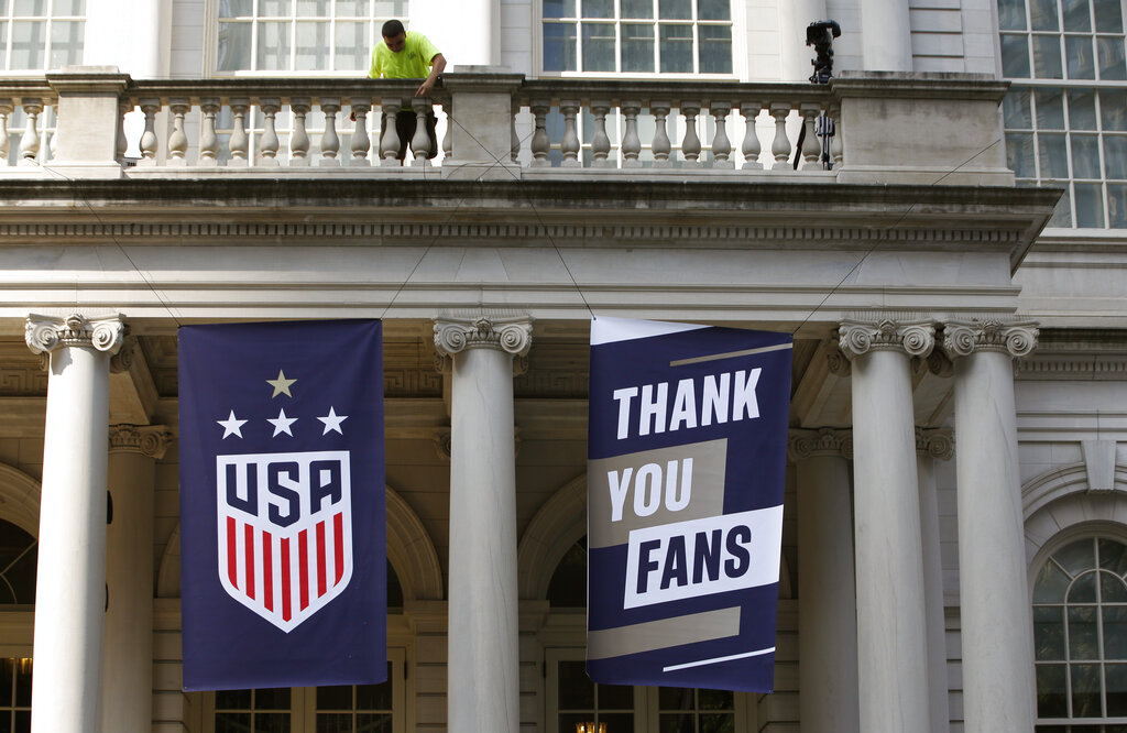 WWCup US Returns Home