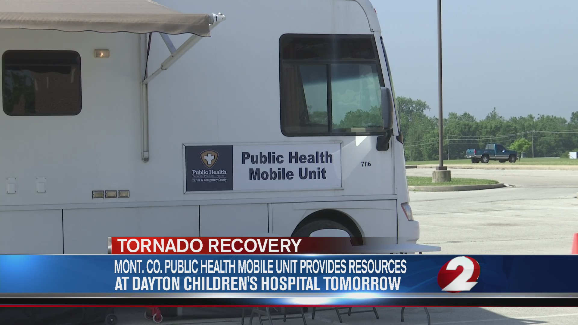 Public Health mobile unit provides resources for tornado