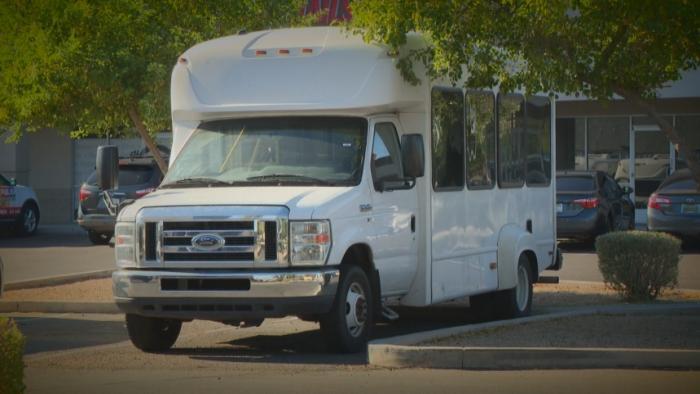 Autistic teen left on bus