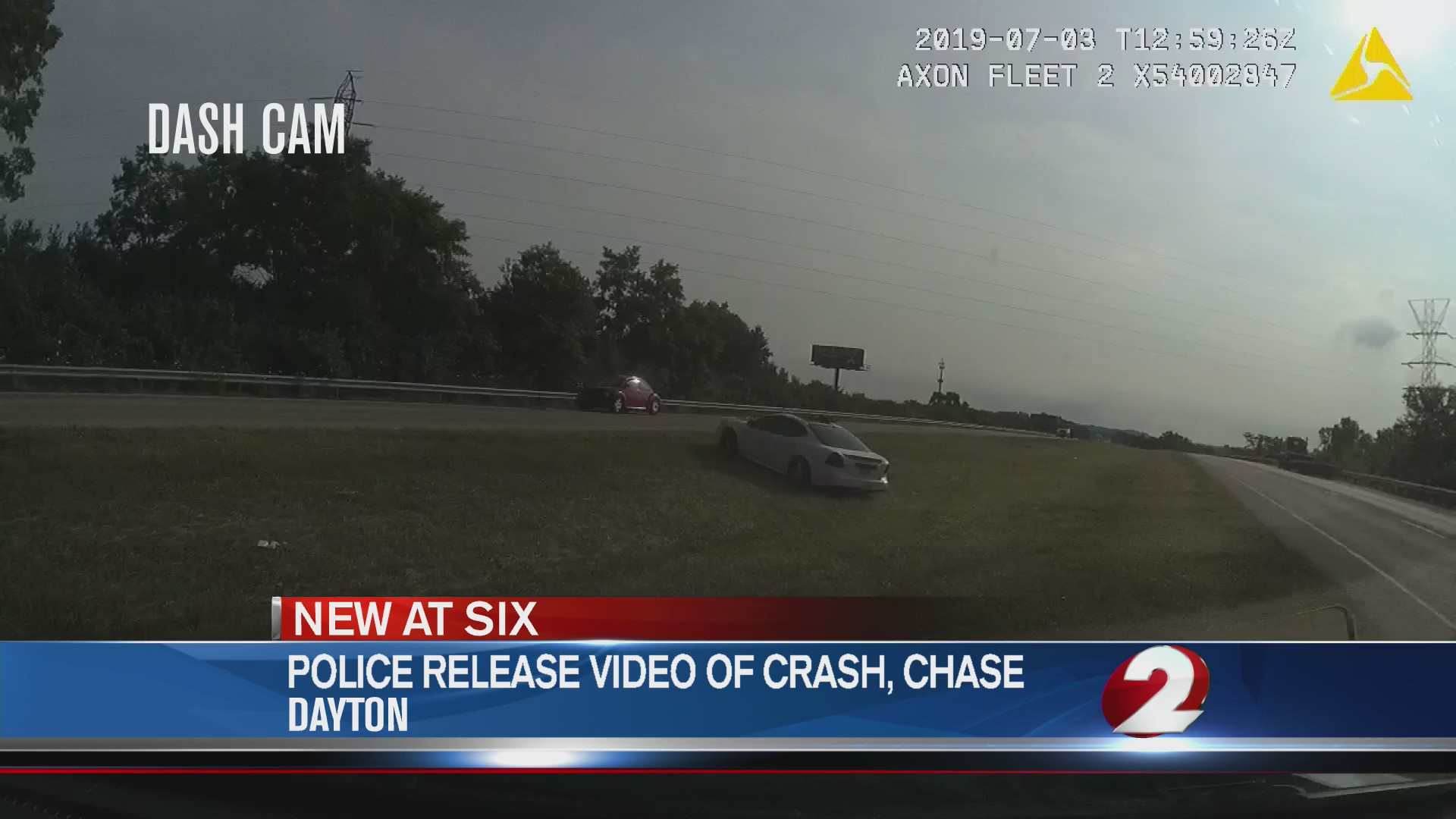 WATCH: Suspect runs from police after chase, crash | WDTN