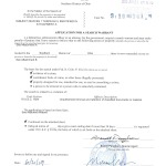 Application for Search Warrant in FBI Classified Document Investigation