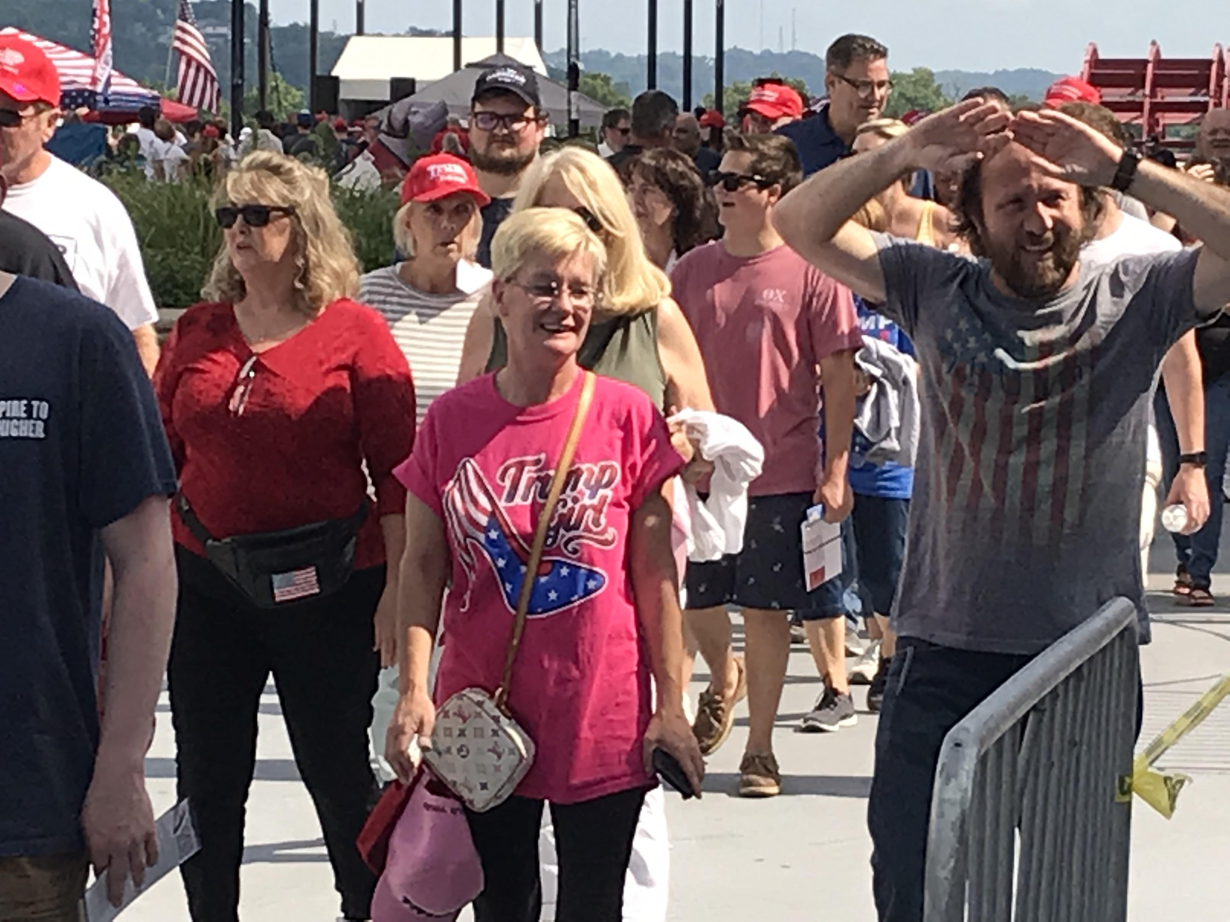 Sights at the Trump Rally 5