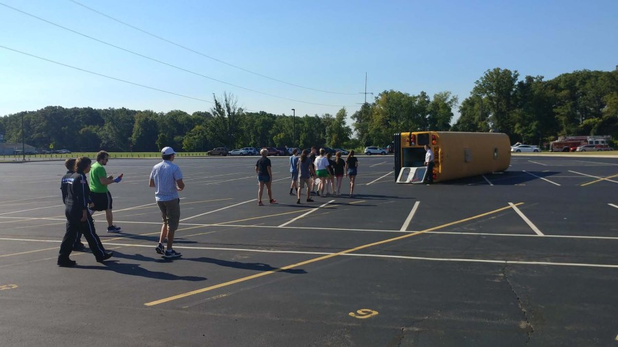 Northmont City Schools holding bus safety training