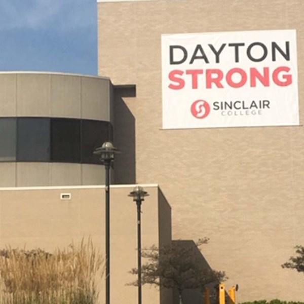 Dayton Strong Banner Sinclair