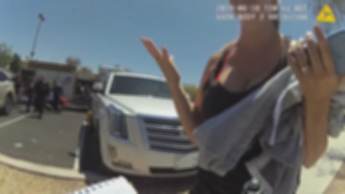 Child in hot car body cam (KPNX/NBC News)