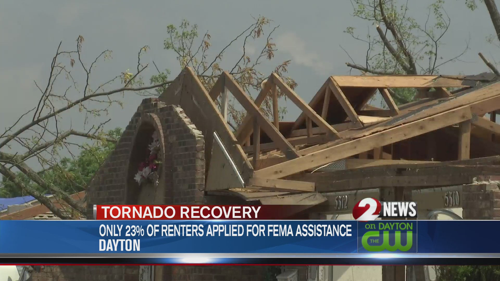 Tornado recovery aid left unclaimed 2 weeks before FEMA
