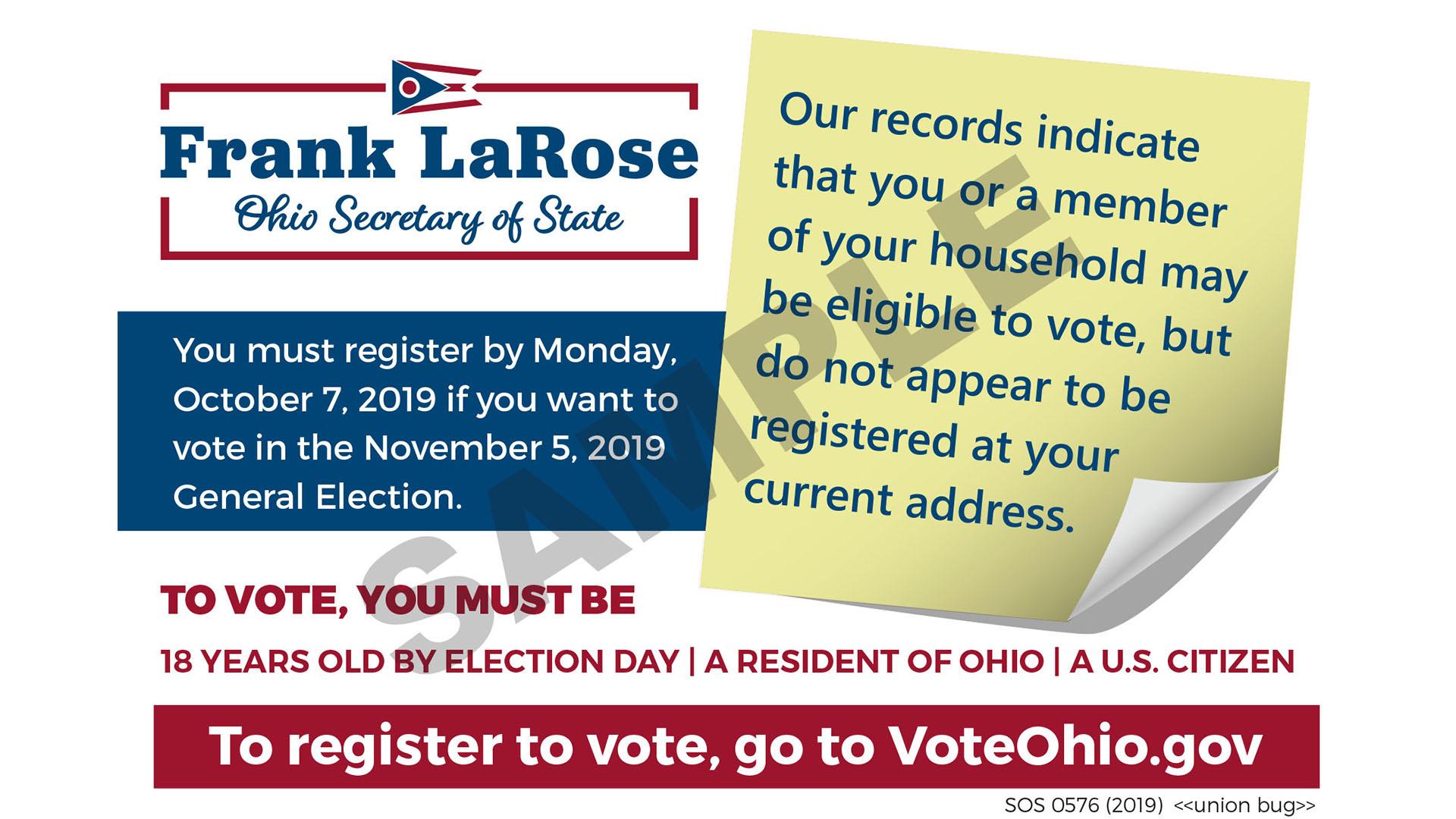 Voter Postcard
