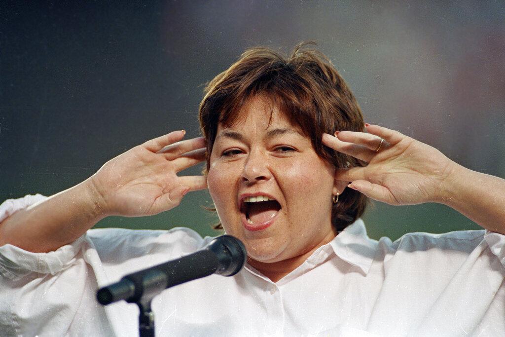 Roseanne Barr Anthem