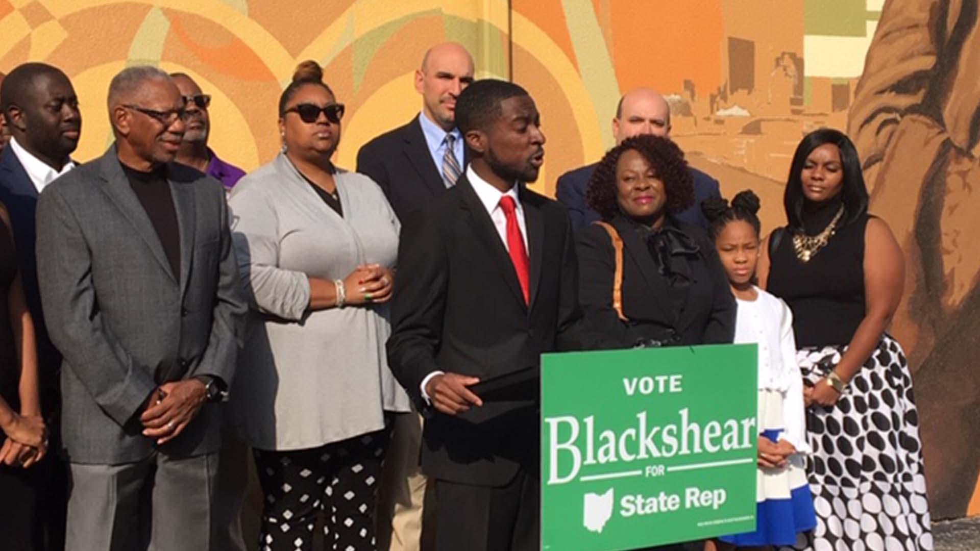 Blackshear announces candidacy