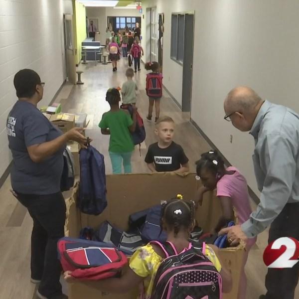 Crayons to Classrooms donates backpacks to Northridge