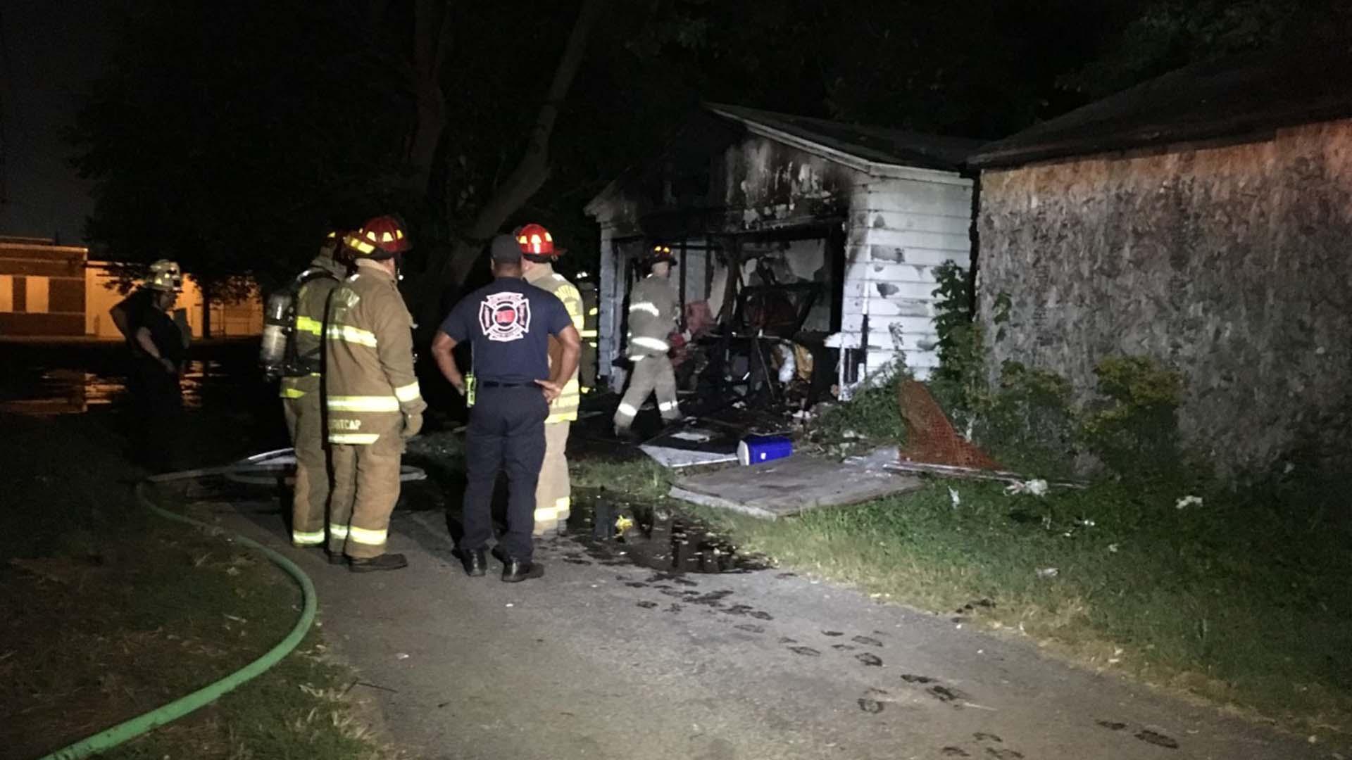 9-9-2019 Dayton Garage Fire E. Third St.