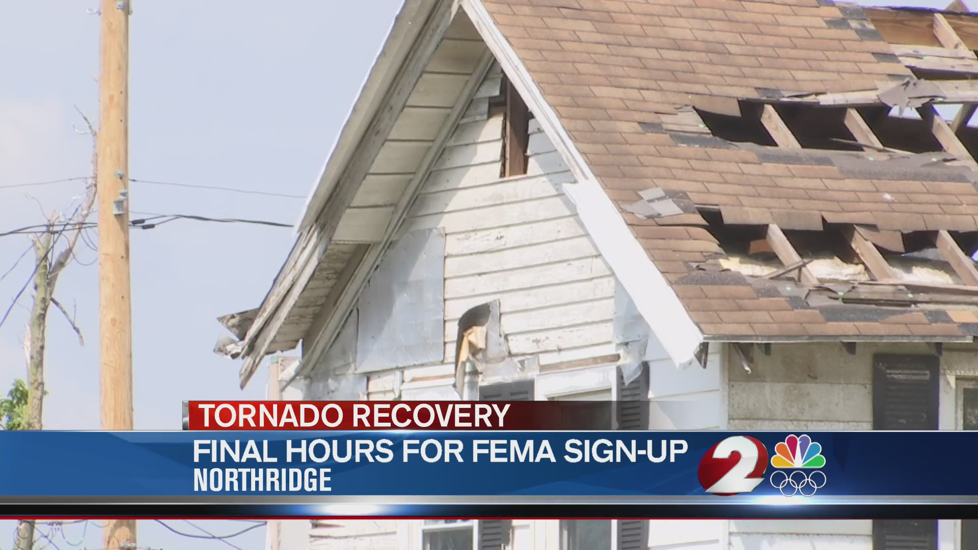 Last day to apply for FEMA, SBA tornado recovery assistance