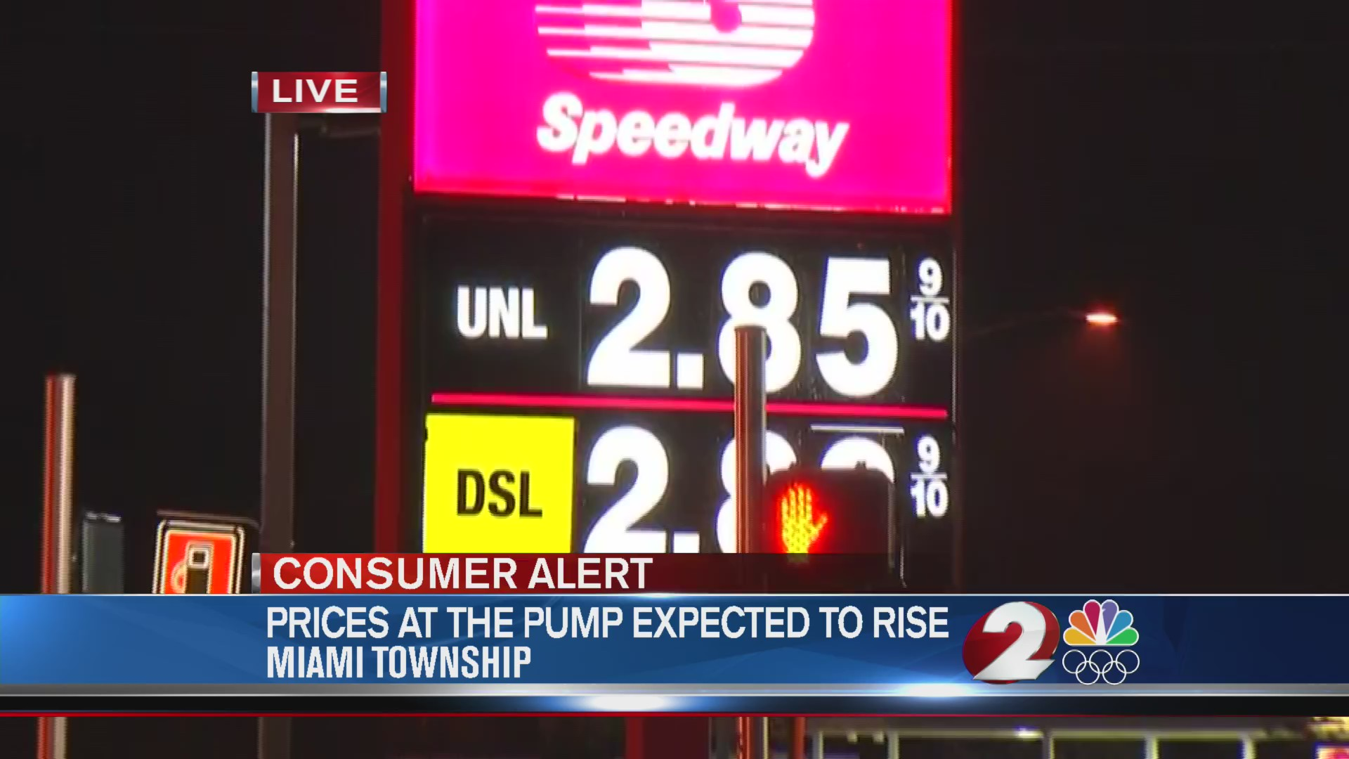 Speedway Gas Prices Near Me >> Local Gas Prices Rising After Attack On Major Oil Supplier