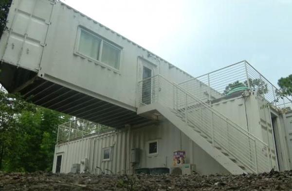 Bahamian Family Finds Home In Shipping Container