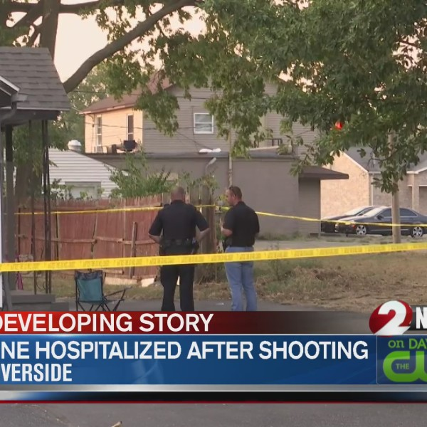One hospitalized after shooting