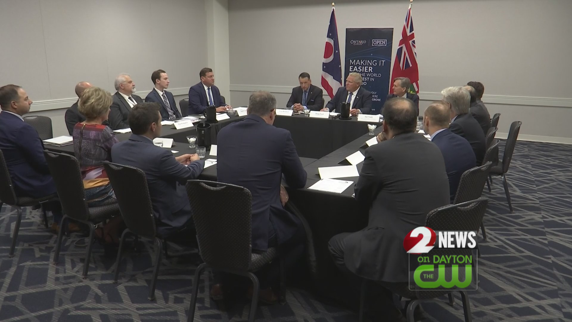 Premier of Ontario visits Ohio