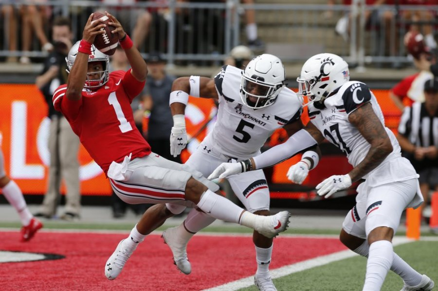 Fields, No  5 Ohio State bury Cincinnati 42-0 | WDTN