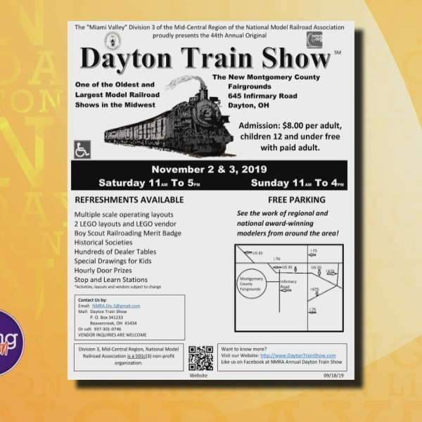 10-30 dayton train show