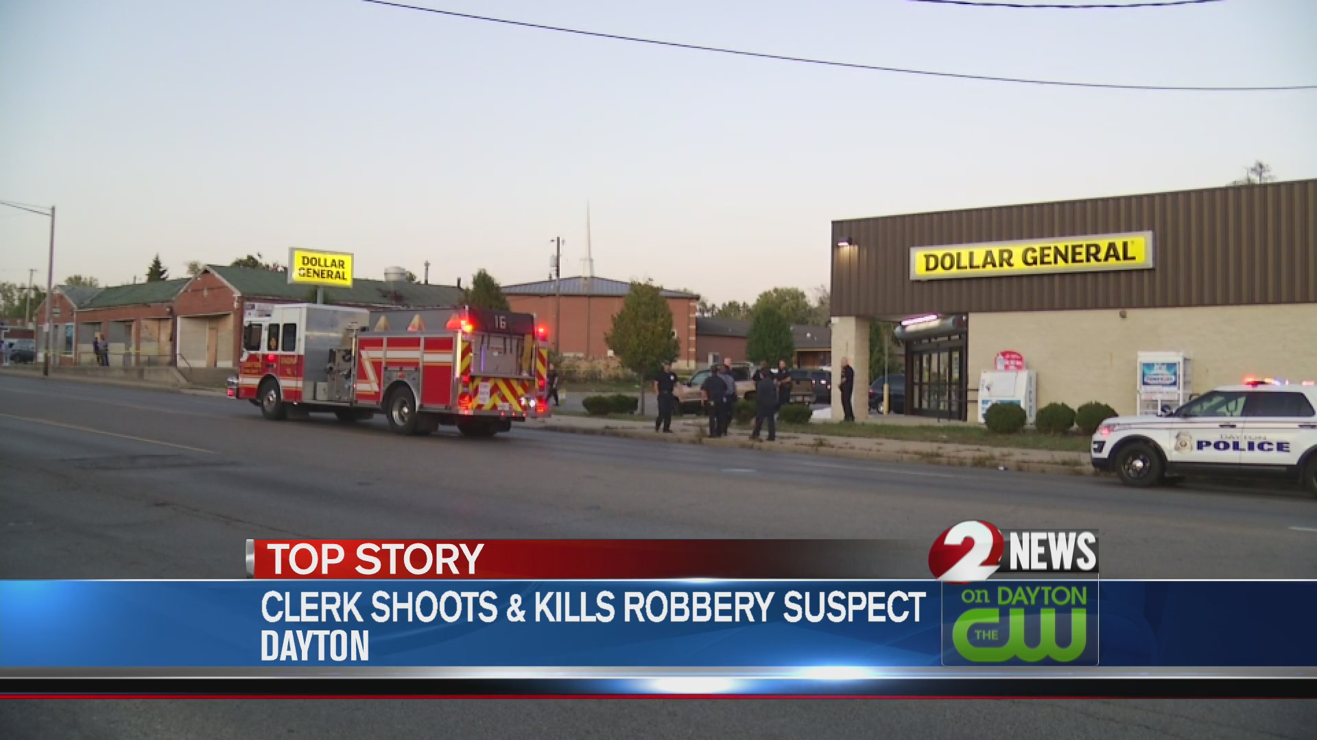 Clerk shoots and kills robbery suspect