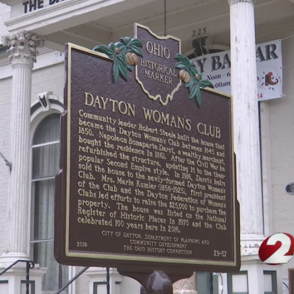 Dayton Woman's Club receives historical marker