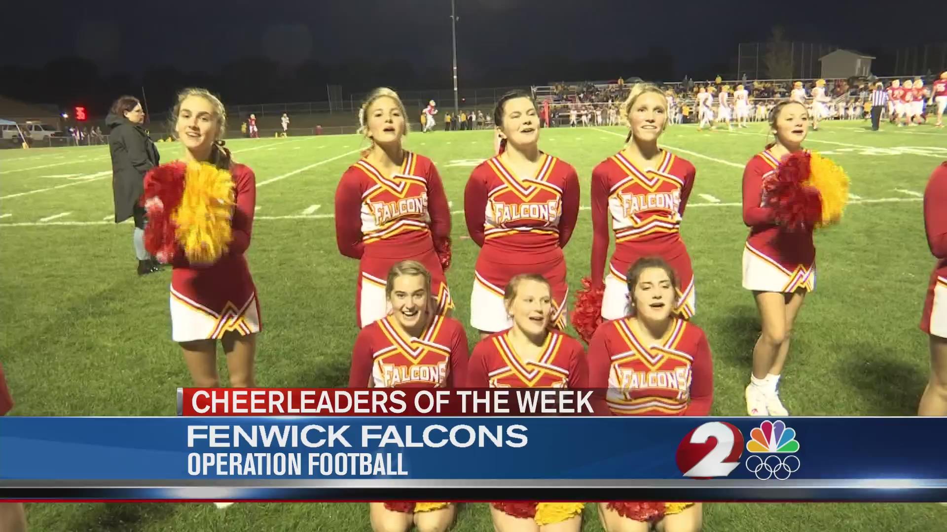 Fenwick Falcons Cheerleaders of the Week