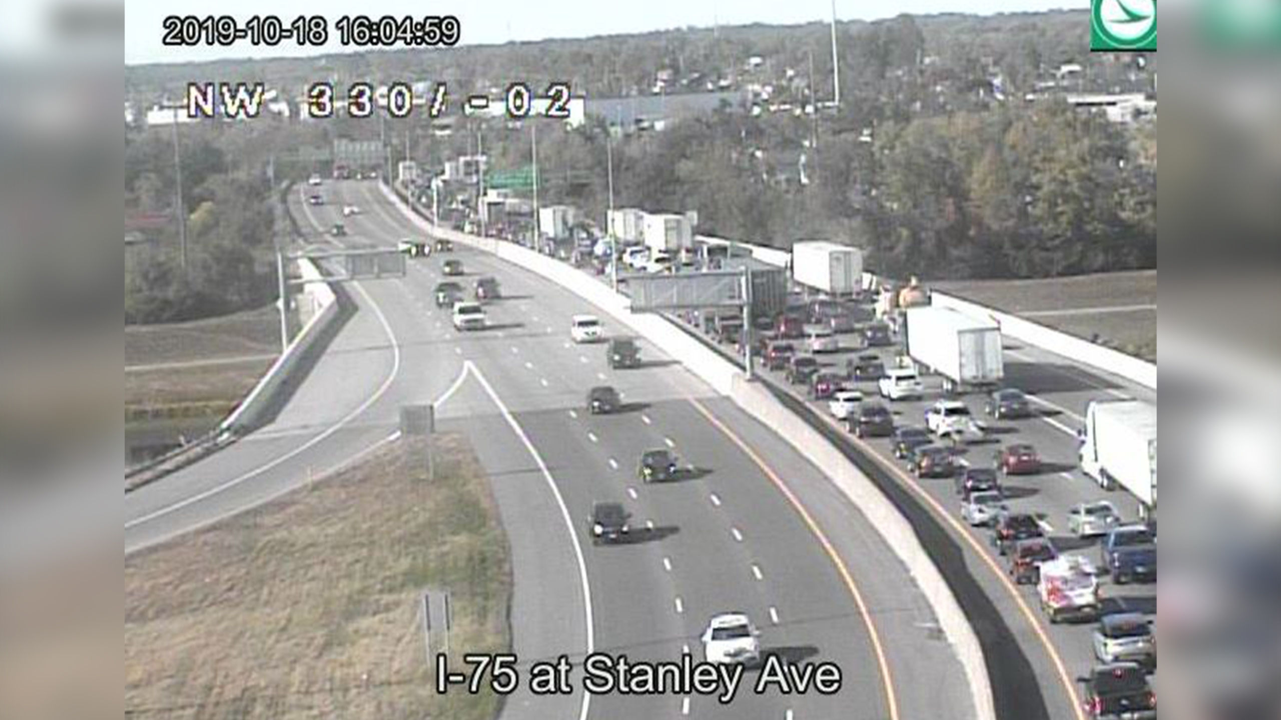 I-75 at Stanley Ave
