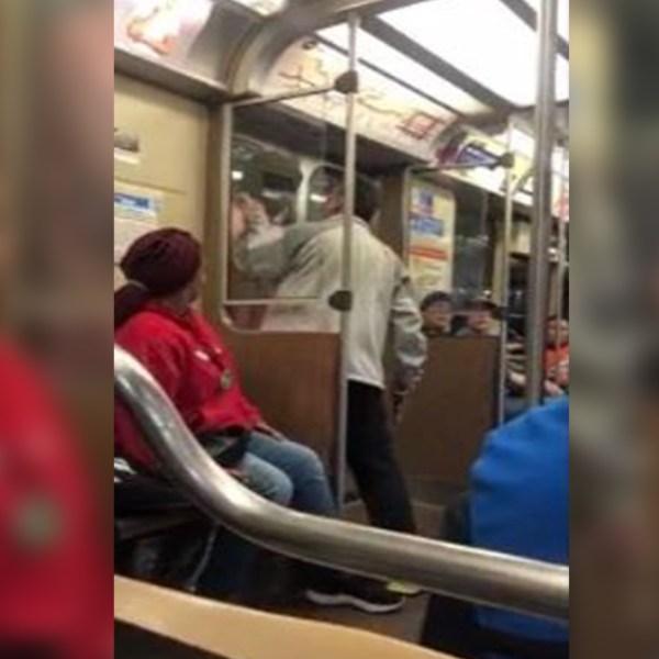 Passenger stops train robber