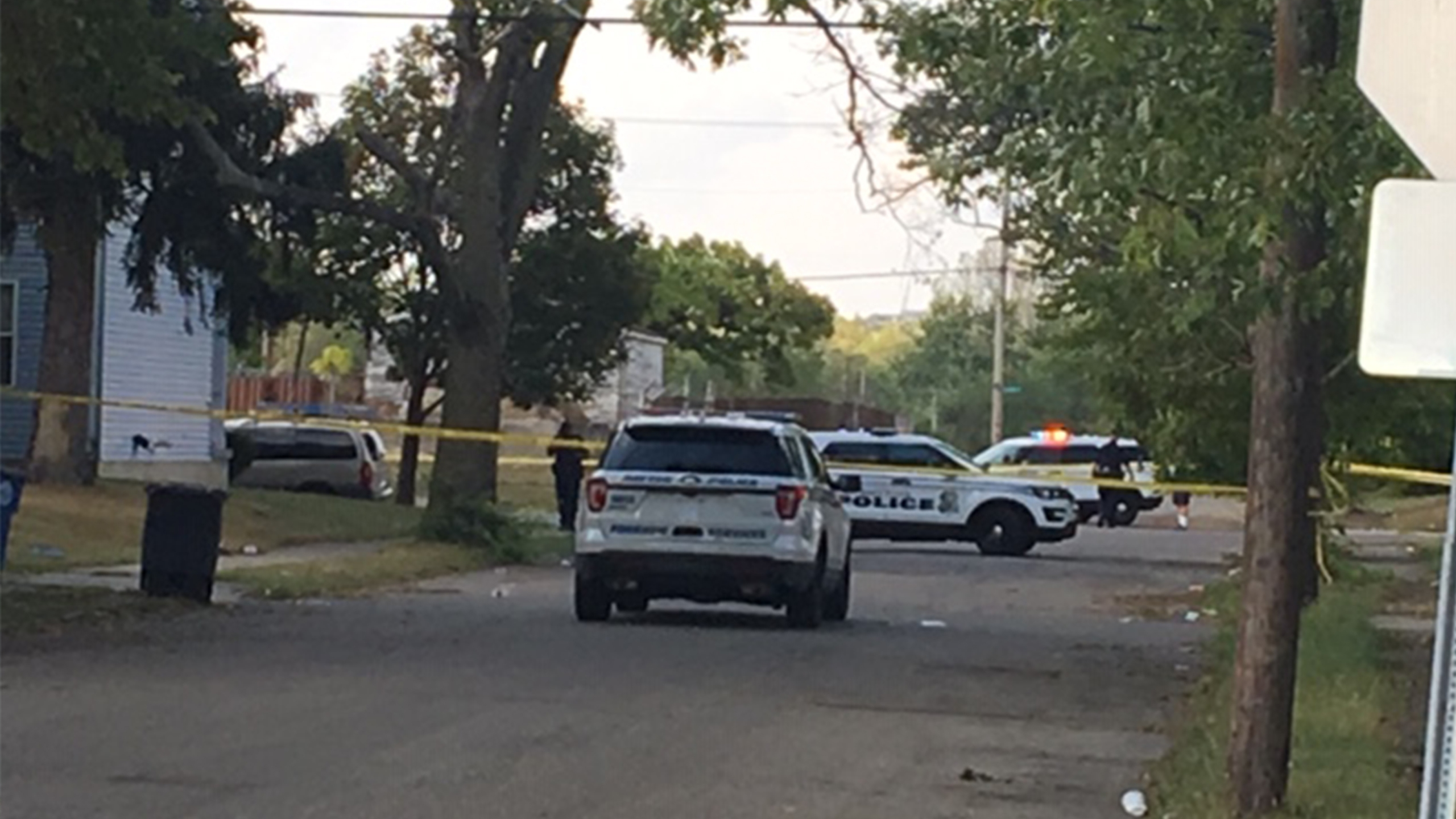 West First and Euclid shooting
