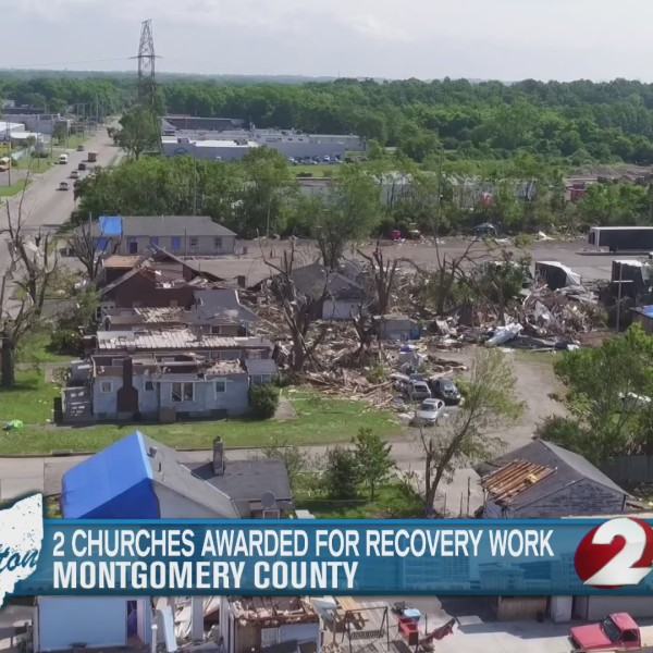 2 churches awarded for recovery work