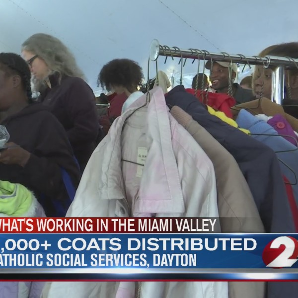 2,000+ coats distributed during Coats for Kids