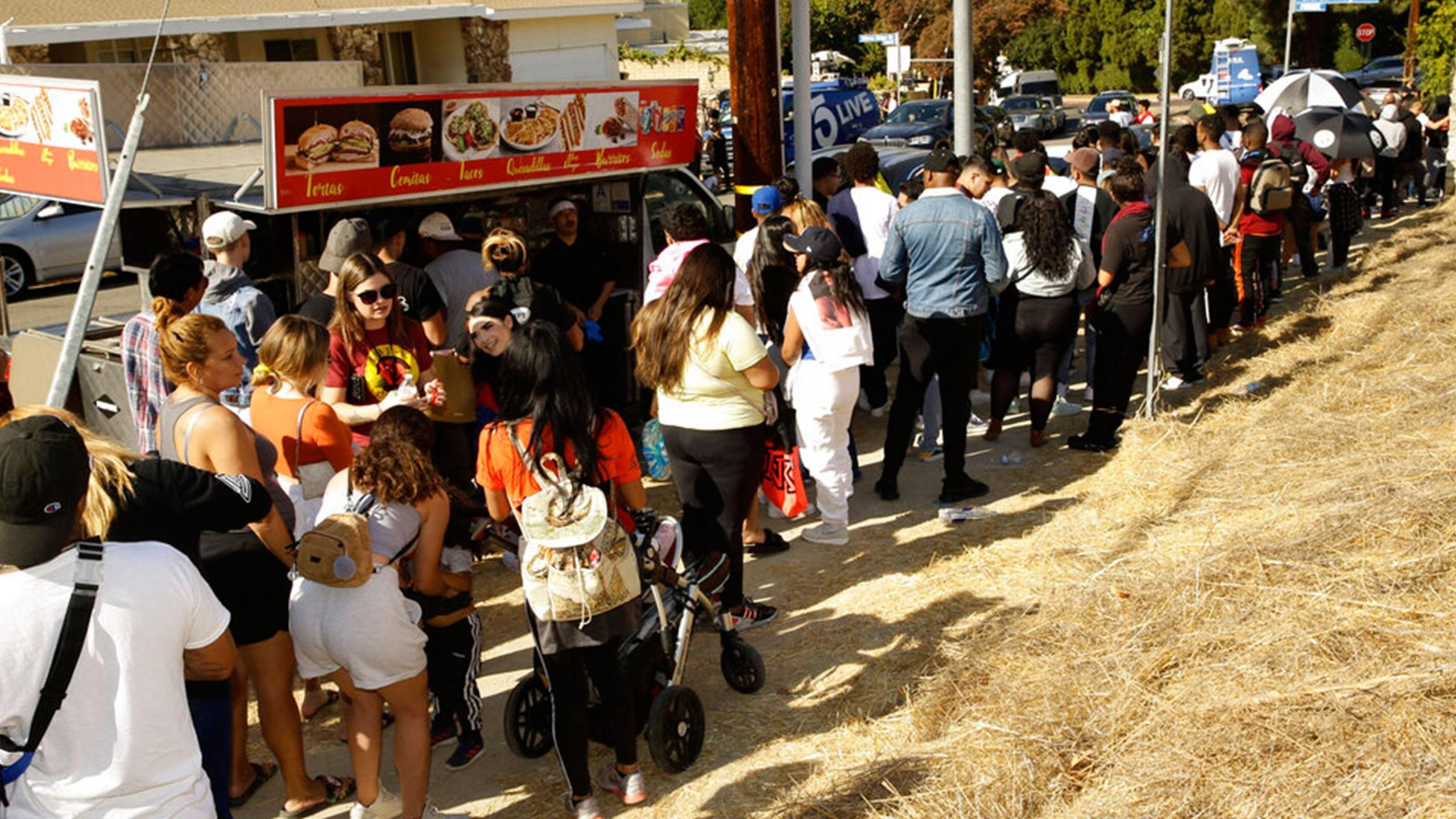 Chris Brown yard sale